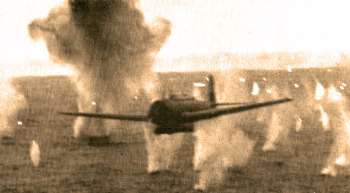 Kamikaze Attacks in Pacific