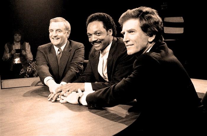 Mondale - Jackson - Hart - Super Tusday 1984