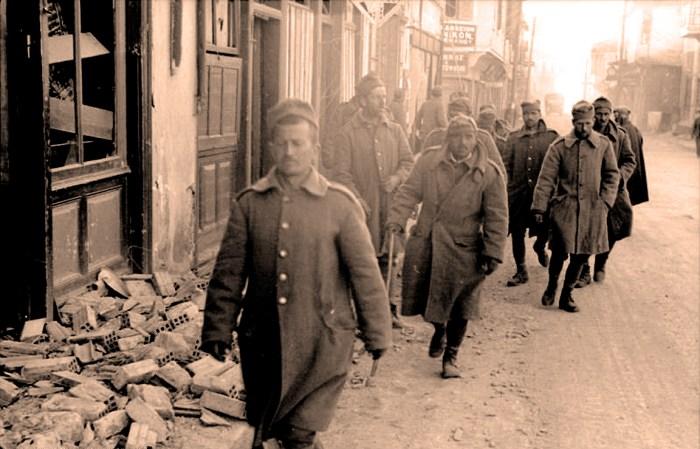 Italian Army prisoners - March 1941