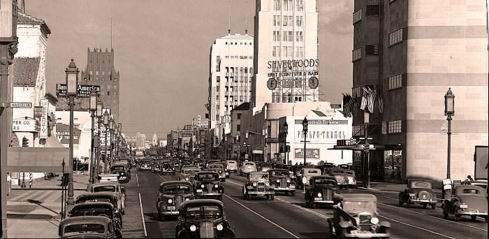 Los Angeles - Wilshire Boulevard - 1939