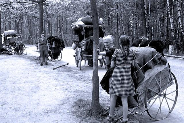 German Women-Children Refugees