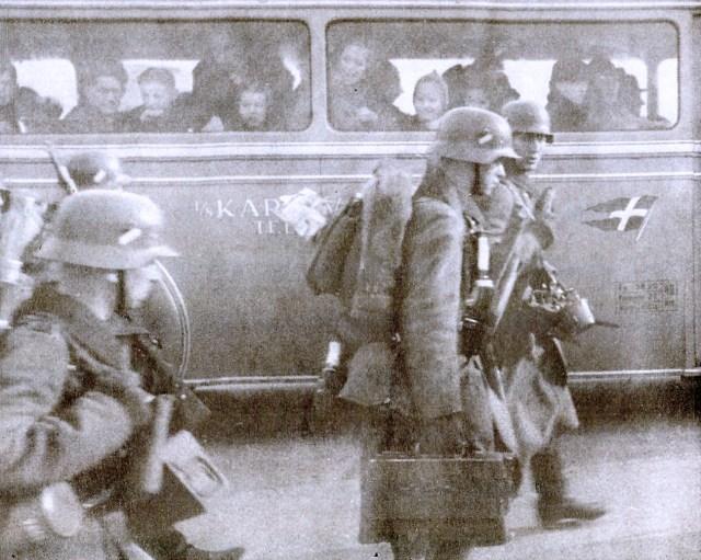 German Troops in Oslo- April 10, 1940