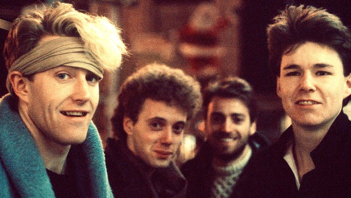 The Skids - in concert - Edinburgh Odeon - 1979