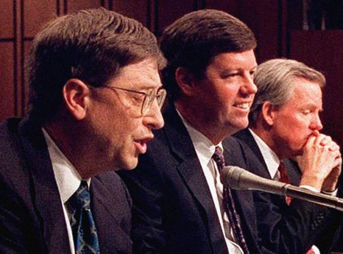Bill Gates on Capitol Hill