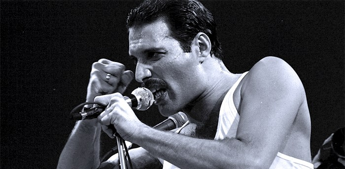 Freddie Mercury of Queen - Photo - Zuma Press