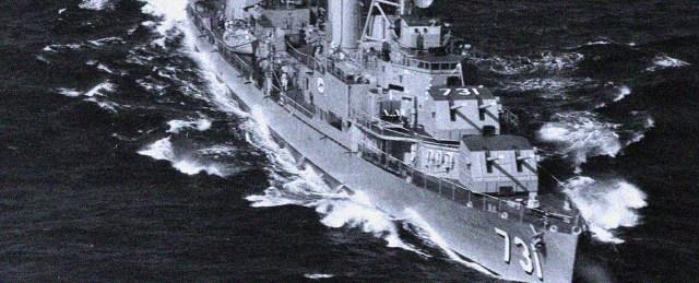 USS Maddox - Gulf Of Tonkin