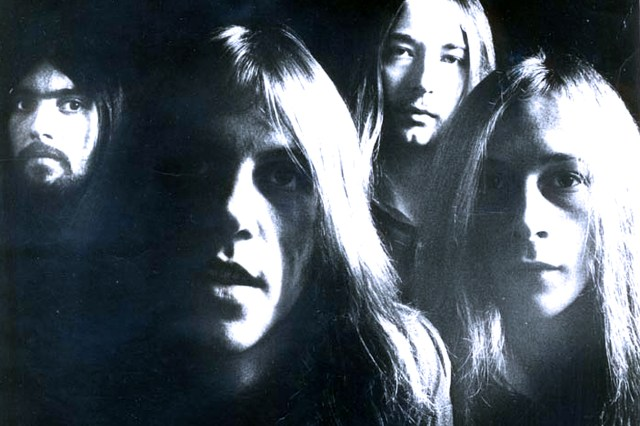 Stray - in session for Peel - 1973