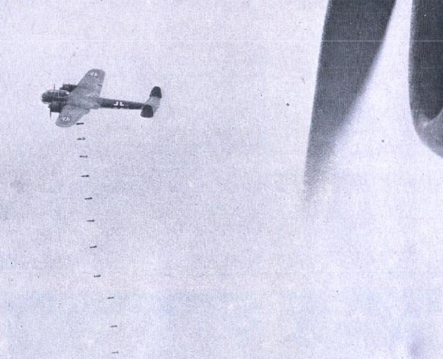 German Bombers Over London