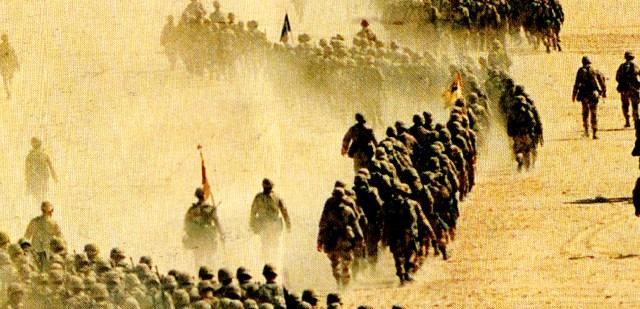 U.S. troops - Runup to Desert Storm - November 1990