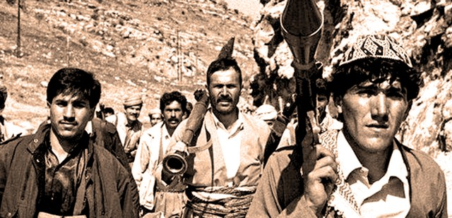 Kurdish Rebels - March 1991 - Photo: Richard Wayman