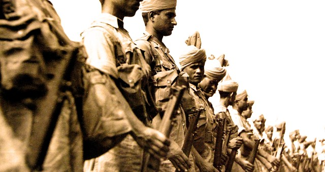 Indian Troops - 1942