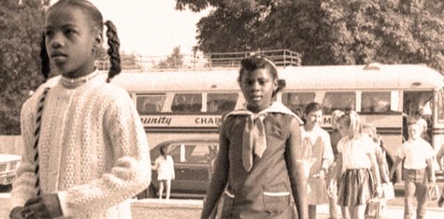 School Busing in L.A. - 1980