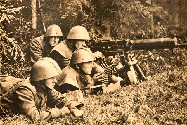 Czech Troops on the German Border - 1938