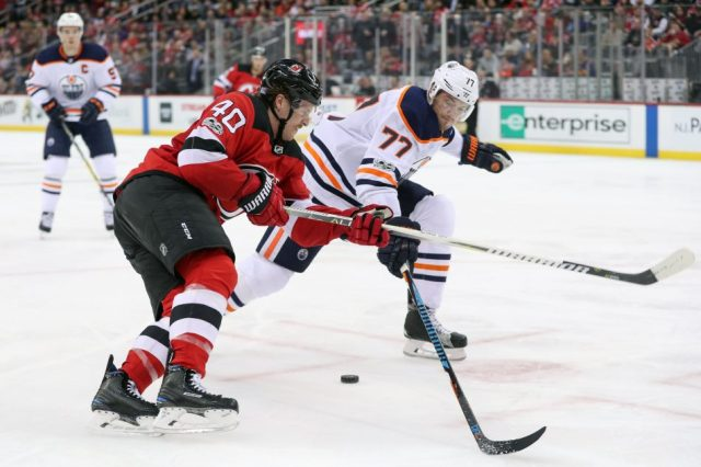 GDB Game Notes: Oilers @ Devils