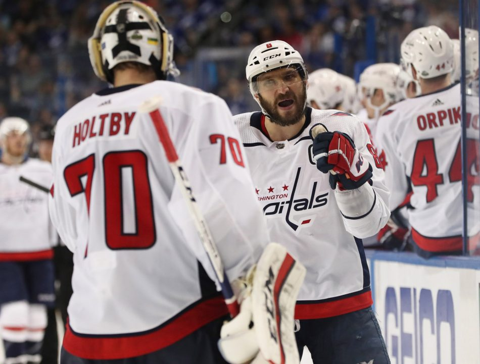 2020 Nhl Ufa Top 30 Mikael Granlund And Braden Holtby