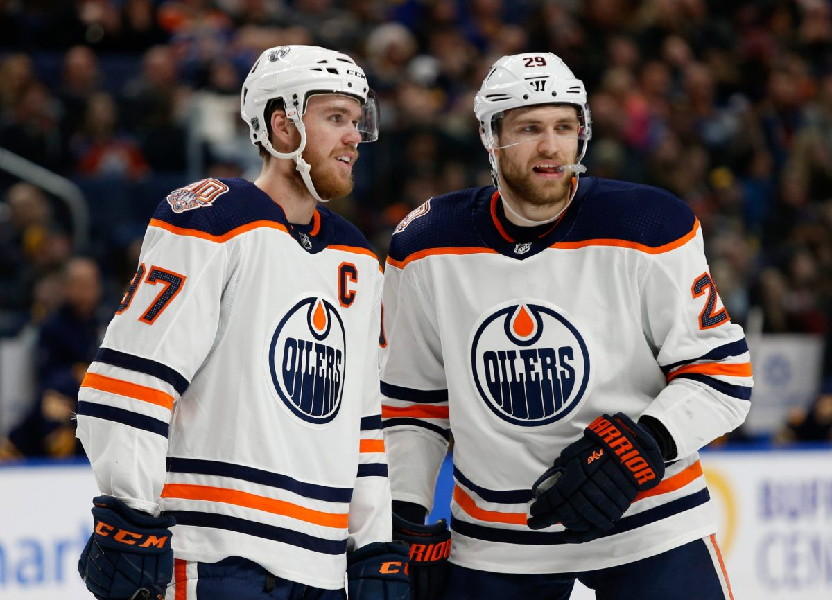 The Advantages and Disadvantages of pairing McDavid and Draisaitl together