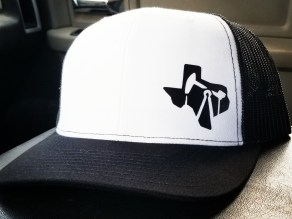 Texas Oilfield Cap white & black