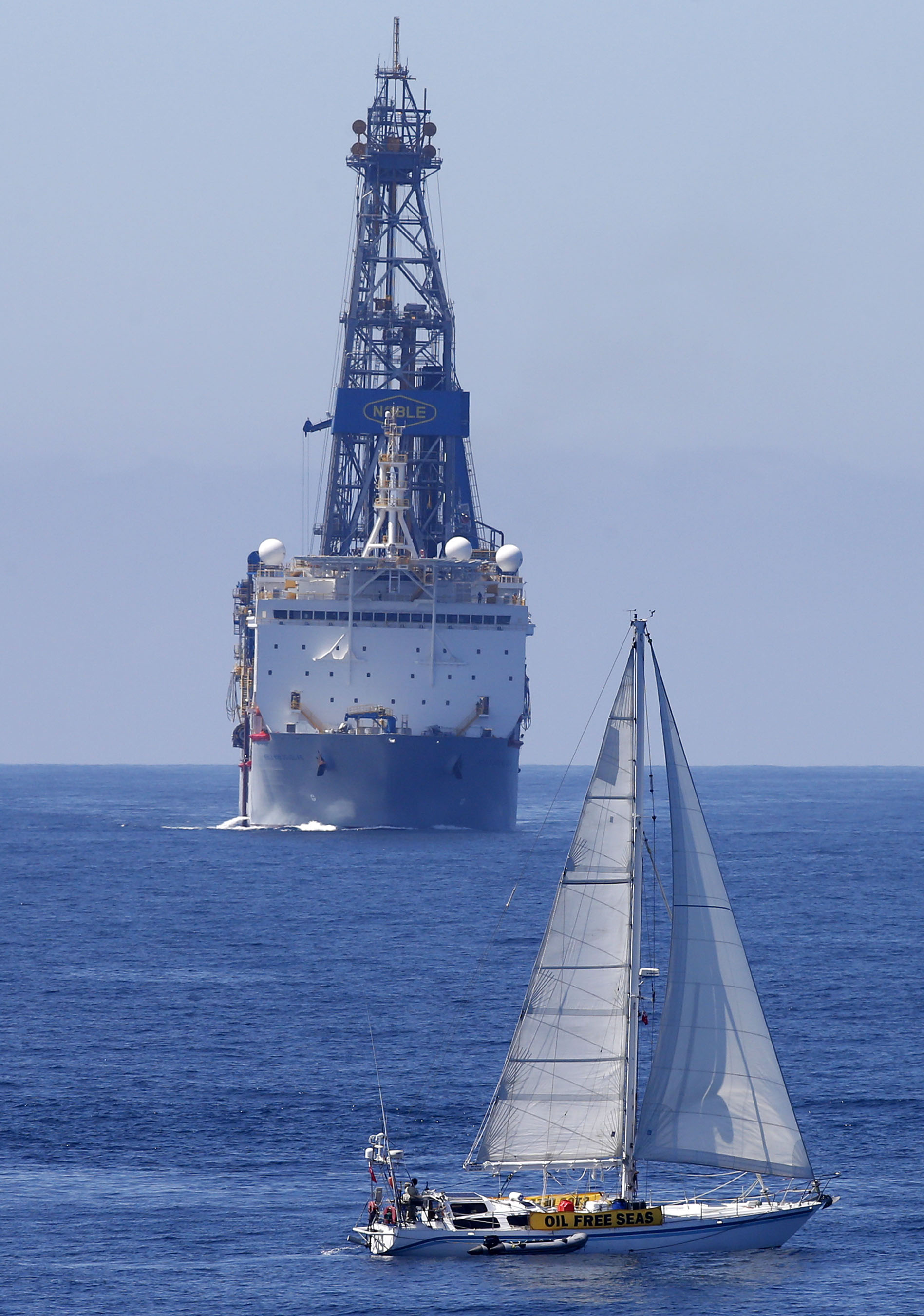 Oil Free Seas Flotilla, Oil Free Otago