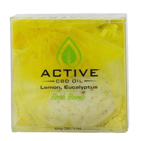 Bath Bomb Lemon Eucalyptus Box Top