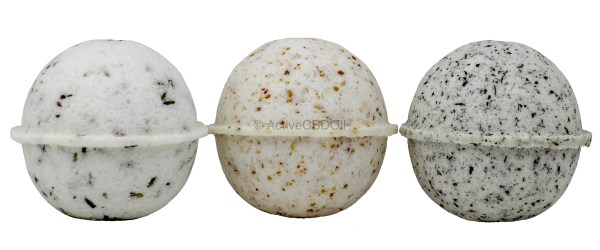 Bath Bomb Trio No Ribbons