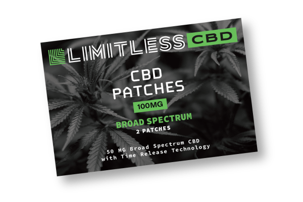 Limitless CBD Broad Spectrum Patches Front View