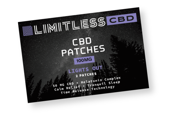 Limitless CBD Lights Out Patches Front View