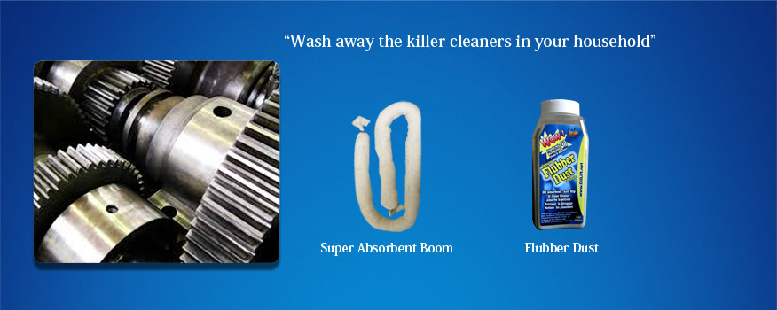 Wash Away The Killer Cleaners in Your Household