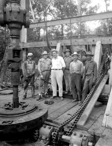 OILMAN ARCHIVE: Driller Jack Clark – 1930s