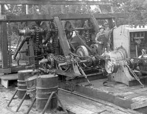 OILMAN ARCHIVE:  East Texas Gears and chains – 1930's