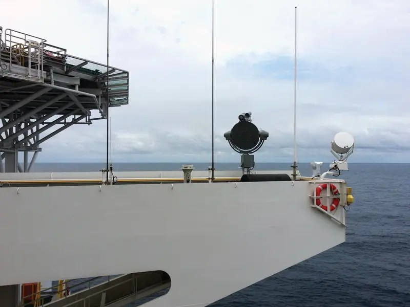Anti-Piracy Systems Standing Watch on Vessels in Pirate Infected Waters
