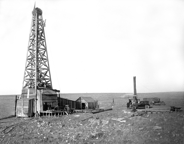 Innovation & Technology in Oil & Gas – Cable Rigs 1918 to Rotary Rigs 1928