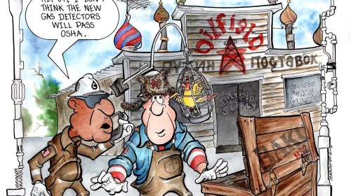Oilman Cartoon – November/December 2016
