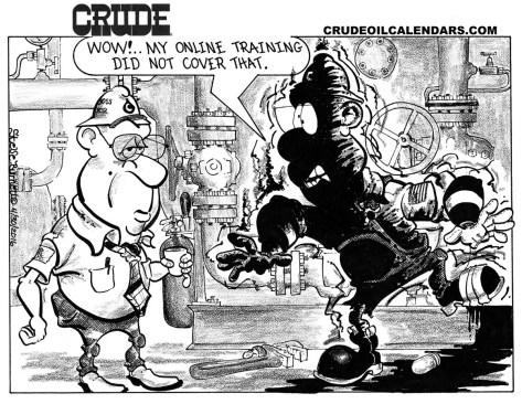 Oilman Cartoon – January/February 2017