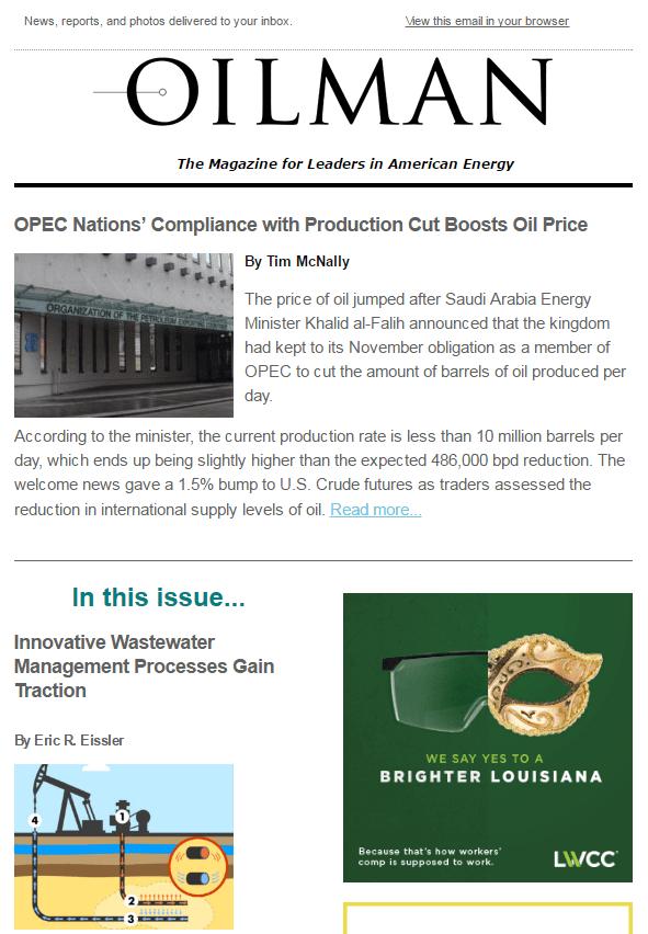 Oilman Weekly News Edition