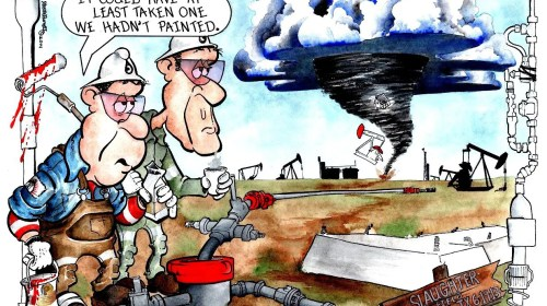 Oilman Cartoon – May/June 2017