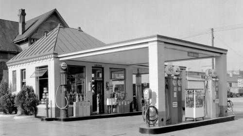 Humble Esso Station