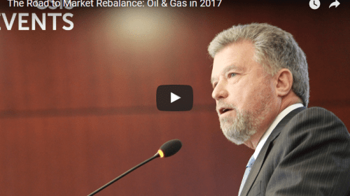 The Road to Market Rebalance: Oil & Gas in 2017