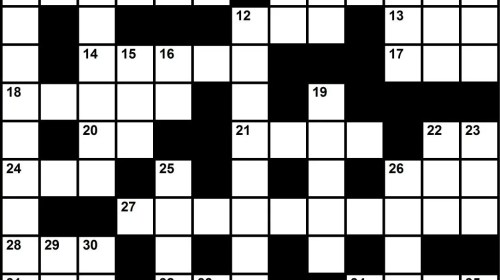 Oilman Interactive Crossword Puzzle – September/October 2017