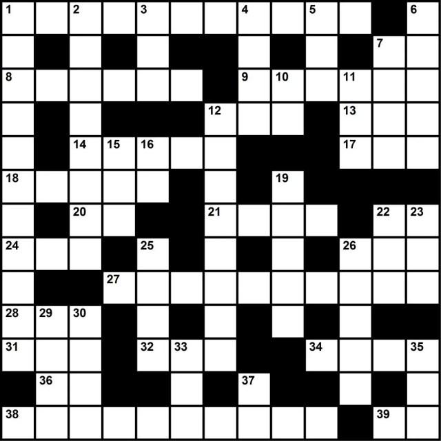 Oilman Crossword July/August 2017