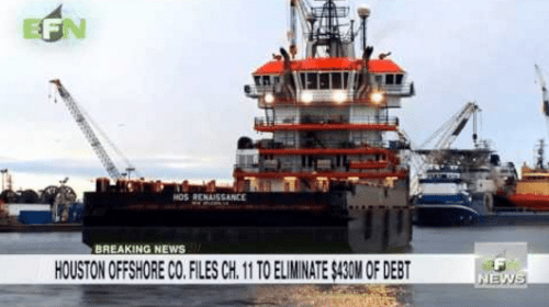 Houston Offshore Co. Files Chapter 11 to Eliminate $430m of Debt