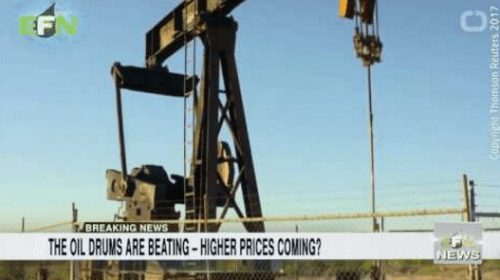 The Oil Drums are Beating – Higher Prices Coming?