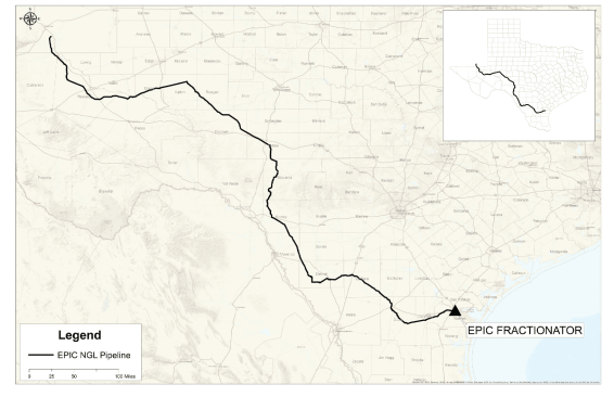 Construction Begins on the New 650-Mile EPIC NGL Pipeline