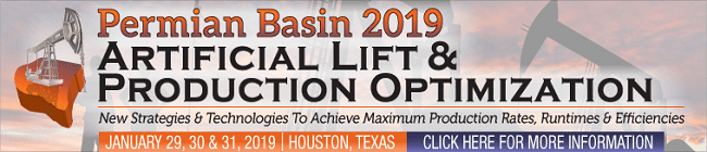 The Permian Basin 2019 Artificial Lift & production Optimization Congress