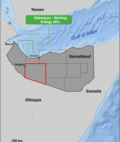 Sterling Energy Revises Farmout Agreement For Odewayne Block, Somaliland