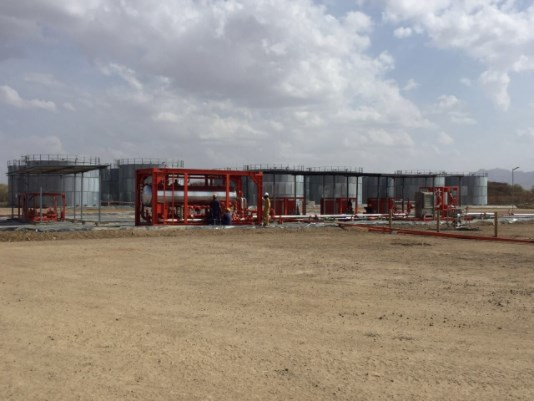 Construction Of Crude Oil Early Production Facility Starts in Turkana