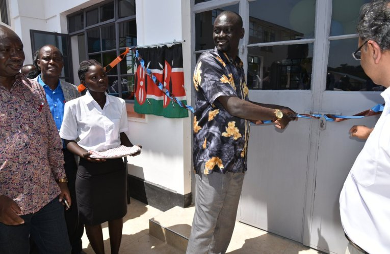 Lundin Foundation, Africa Oil Handover Catering Facility at Lodwar Vocational Training Center