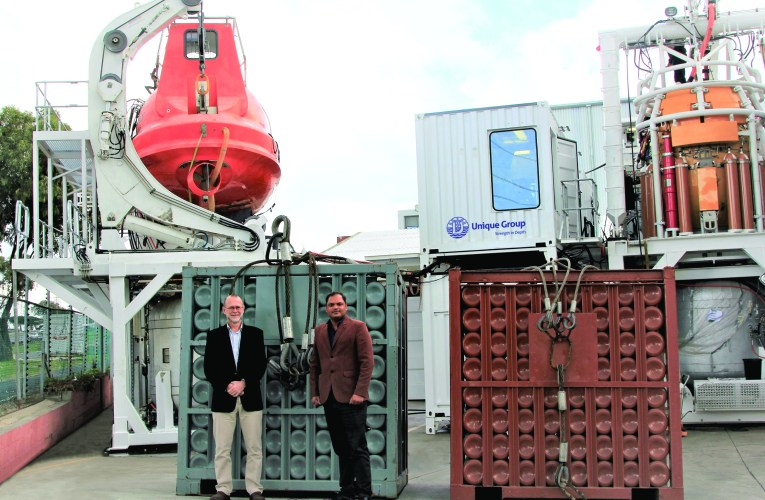 Unique Group offers Diving & Industrial Gas supply for the African offshore market, from its base in Cape Town