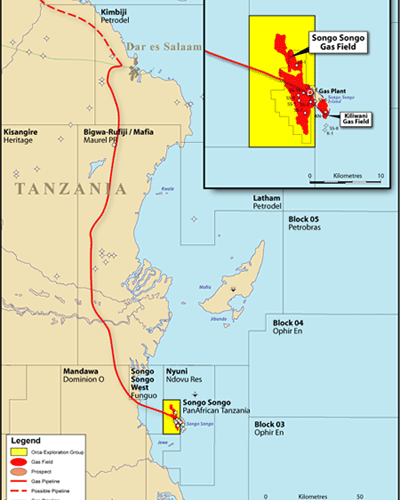 Pan African Energy Supplies Extra Gas To Tanzania in New Short Term Sales Agreement