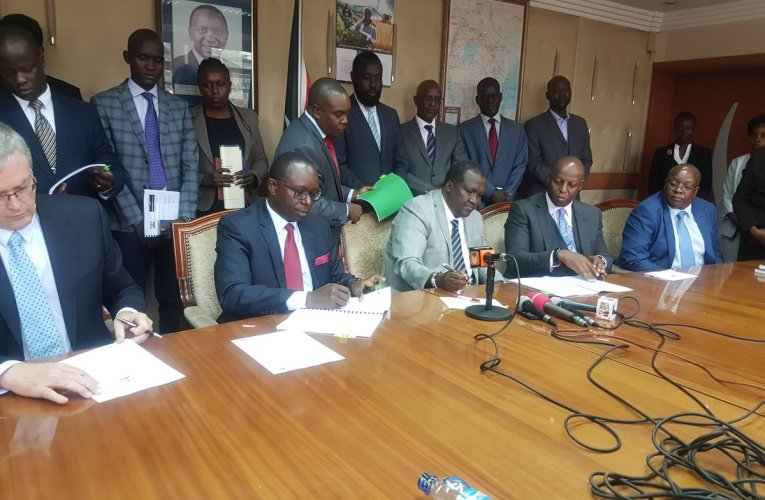 Kenya Joint Venture Partners Sign Heads of Terms Agreements for Development of the South Lokichar Basin