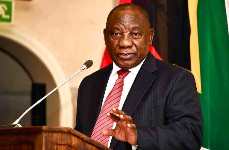 "Infrastructure Symposium ""is laying a path for South Africa after coronavirus, but also way into the future."" – President Ramaphosa"